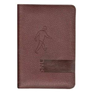 Bible Slovo na cestu-malý formát, hnědá, zip