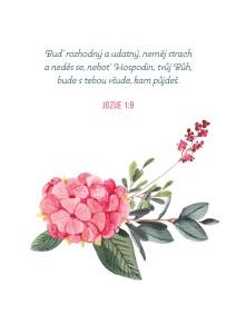 Jozue 1;9-dopisnice
