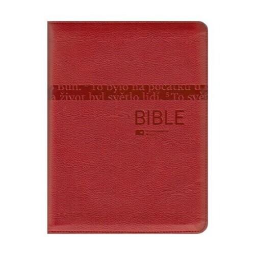Bible ČEP DT-střední formát, zip, výřezy /vzor 1272/
