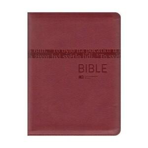 Bible ČEP bez DT-velký formát, červená, zip