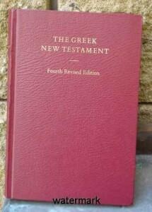 Novum Testamentum Graece-4. revidované vydání-pevná vazba