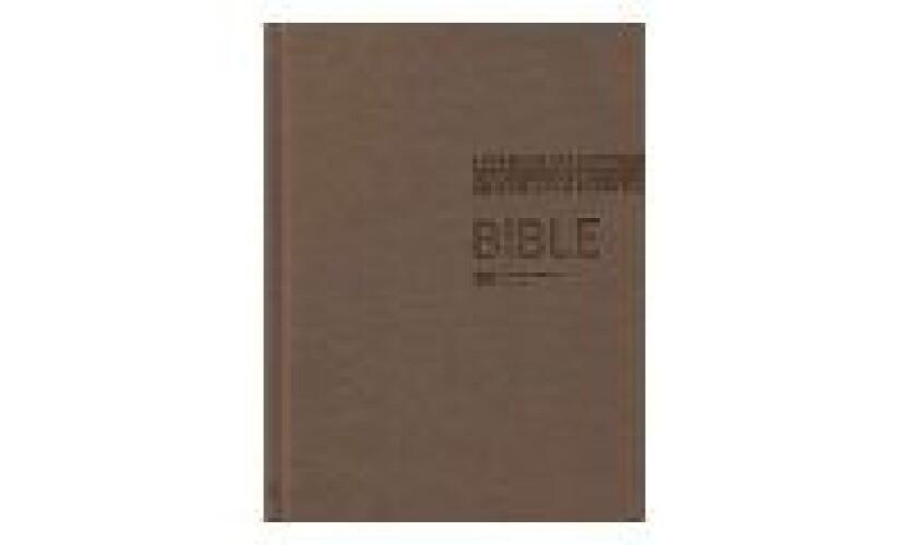 Bible ČEP s DT, velký formát, hnědá