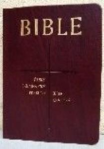Bible - Česká synoptická - měkká vazba, koženka