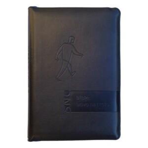 Bible-Slovo na cestu, velký formát, černá, měkká vazba, zip