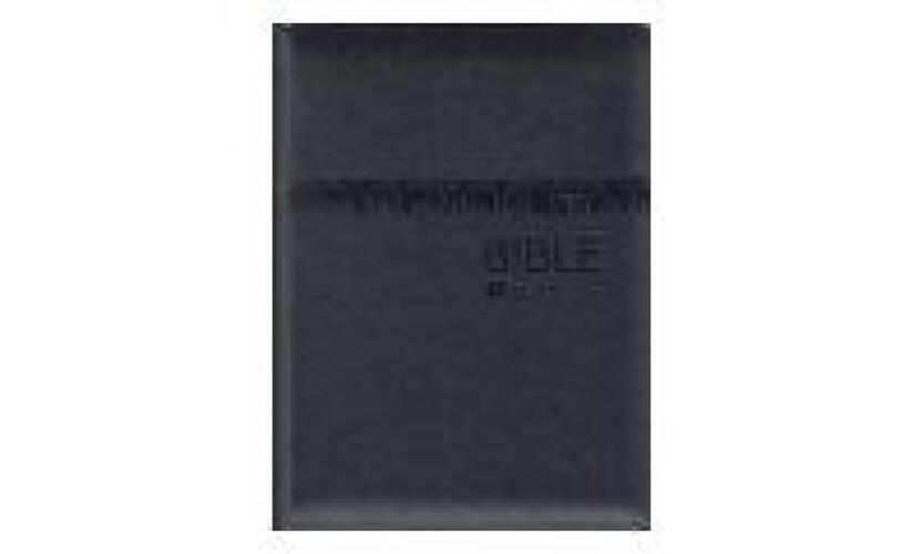 Bible ČEP s DT-velký formát, černá, zip